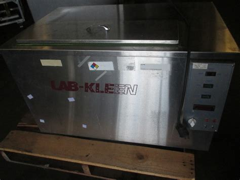 unique lab kleen   dual tank precision vapor degreaser parts cleaner