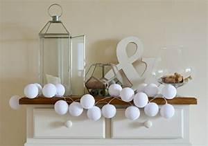 Boule Papier Deco : beaucoup d 39 id es d co avec la guirlande lumineuse boule ~ Teatrodelosmanantiales.com Idées de Décoration