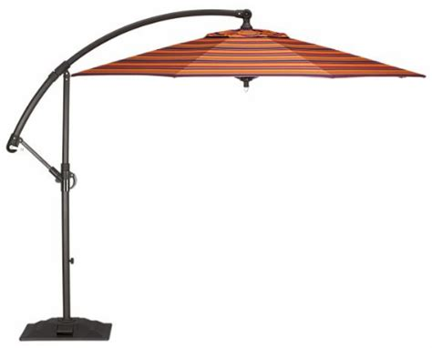the ventura free standing patio umbrella from crate barrel