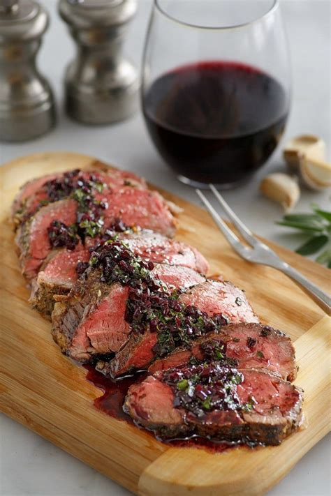 This new year's eve splurge special is dedicated to all of you who've used the cost as the excuse for not doing a beef tenderloin, when the real reason is the intense fear. Roasted Beef Tenderloin with Merlot- Shallot Sauce | Recipe | Beef tenderloin recipes, Beef ...