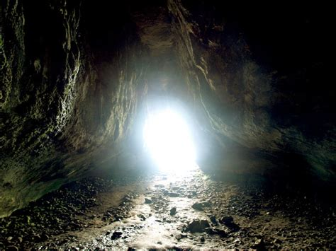 the cave and the light light at the end of the cave andy beecroft geograph