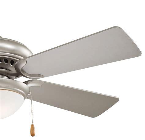44 inch ceiling fans minka aire 44 inch brushed steel supra ceiling fan