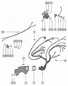 Wiring Harness  Circuit Breaker And Starter Solenoid For