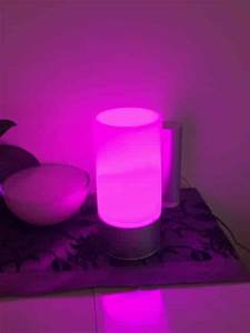 Lampe De Chevet Violet : lampe de chevet multicolore led aukey senstive avis et test ~ Teatrodelosmanantiales.com Idées de Décoration