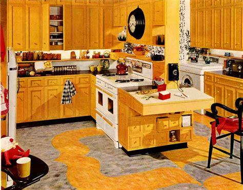 vintage kitchen design ideas retro kitchen design sets and ideas