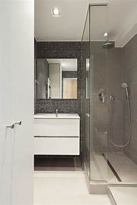 modele de salle de bain avec douche al italienne iconartco With modele de salle de bain al italienne
