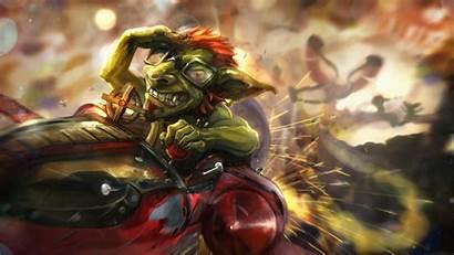 Goblin Hearthstone Warcraft Dwarf Wallpapers Heroes Catapult