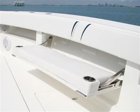 Boat Aft Bench Seat by Center Consoles 370z Details Seavee Boats