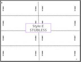 Free Printable Blank Raffle Ticket Template