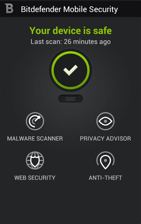 bitdefender for android antivirus security for android bitdefender mobile security