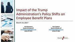 Impact of the Trump Administration's Policy Shifts on ...