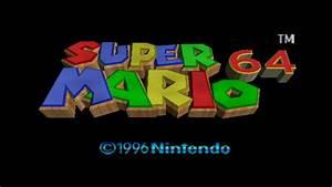 Super Mario 64 Screenshots for Wii