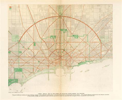 1909 Plan of Chicago · Architecture & Design Visual ...