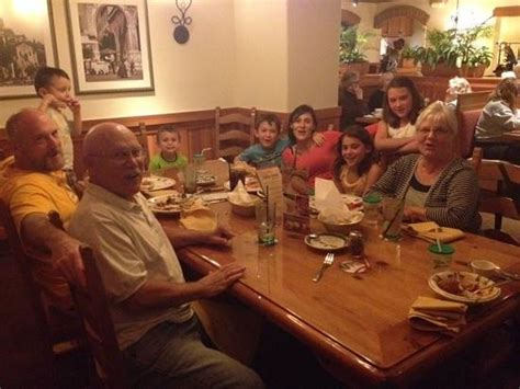 Family Dinner  Picture Of Olive Garden, Vero Beach