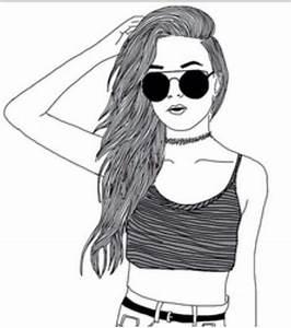 Fille Noir Et Blanc : fille clipart noir et blanc collection ~ Melissatoandfro.com Idées de Décoration
