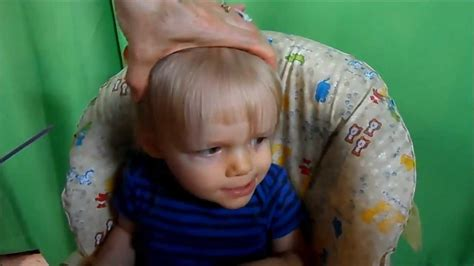 haircuts for 1 year boy how to cut toddler boy hair part 1 1270
