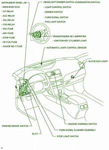 Toyota Camry Headlight Wiring Diagram