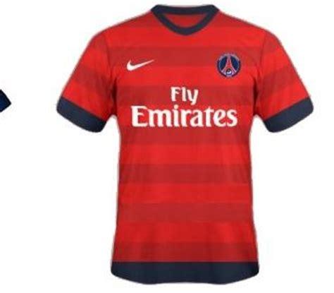 nouveau maillot psg exterieur photos de foot photo le nouveau maillot ext 233 rieur du psg 2012 13 psg ligue 1 foot 01