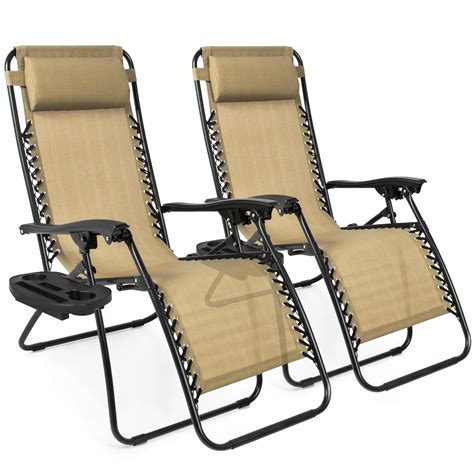 Perfect chair for those who suffer back pains. Best Choice Products Set of 2 Adjustable Zero Gravity ...