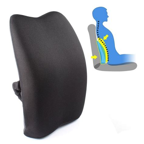 lumbar cushions for sofas lumbar support cushion for sofa the backsac a portable and