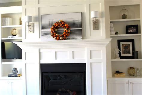 fireplace  bookshelves   sides home design ideas
