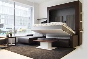 Möbel Für Kleine Zimmer : l sung f r kleine r ume 21 wandbett ideen m bel zenideen ~ Bigdaddyawards.com Haus und Dekorationen