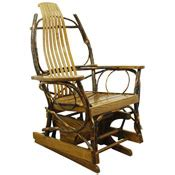 amish made bent hickory oak rocking chair rcbrb15m