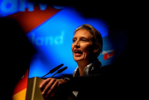 weidel beine germany s far right afd picks leader for election