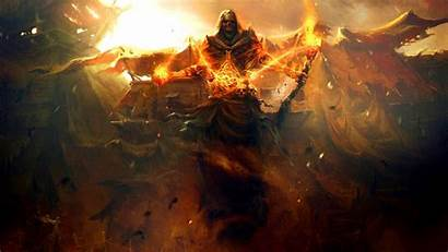 Fantasy Dark Death Skulls Paintings Wallpapers Reaper