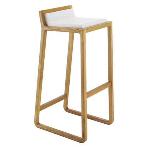 tabouret chaise de bar joe oak bar stool buy now at habitat uk