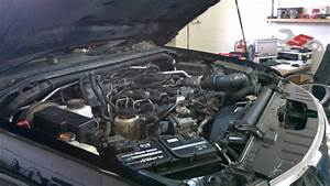 Nissan Navara  Frontier Engine Issue  Big Hole  No Extended