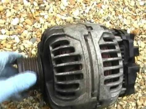 volvo  alternator replacement p  petrol youtube