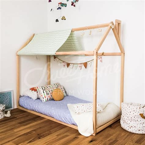 chambre montessori toddler bed play house bed frame children bed bunk bed