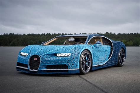 The bugatti chiron commands a fortune, but for serious car aficionados in the 1 percent, it represents perfection. LEGO Just Made a Life-Sized Drivable Bugatti Chiron ...