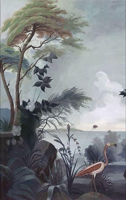 Mural Murals Gournay Sabonhomeblog Wallpapers