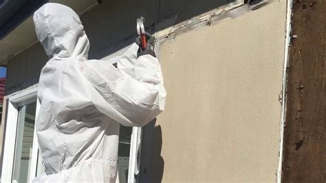 asbestos walls  eaves removal youtube