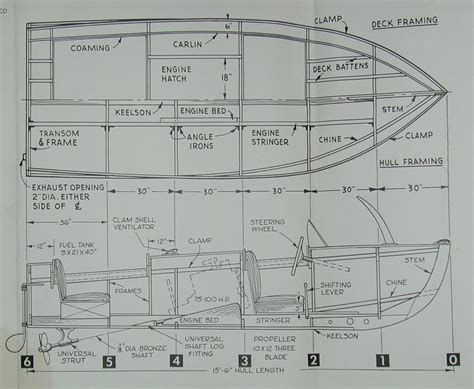 Free Model Boat Plans Uk by Runabout Boat Plans Pdf Guide Farekal