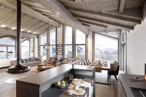 chalets t4 chalet t5 224 vendre courchevel 1650 le belv 233 d 232 re