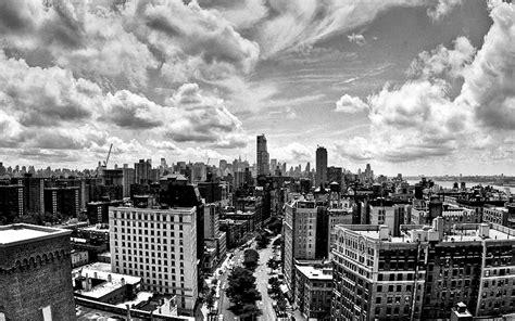 black and white cityscape wallpaper wallpapersafari