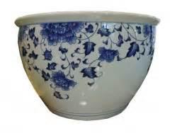 Cache Pot Bleu : pots et cachepots archives aux merveilles d 39 asie ~ Teatrodelosmanantiales.com Idées de Décoration