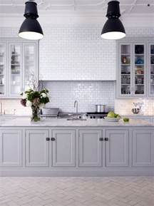 pictures of kitchen tile backsplash 50 shades of grey the new neutral foundation for interiors