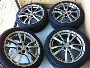 Tx Fs  Tires And Oem 2008 Lexus Is250 18 U0026quot  Wheels