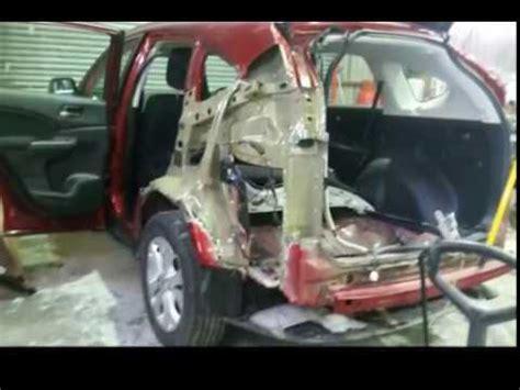 honda cr  left rear panel  tailgate change youtube