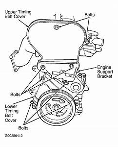 2003 Chrysler Sebring Serpentine Belt Routing And Timing Belt Diagrams