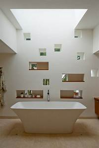 la salle de bain decoration minimaliste moderne en 25 idees With salle de bain design avec décoration de bureau originale