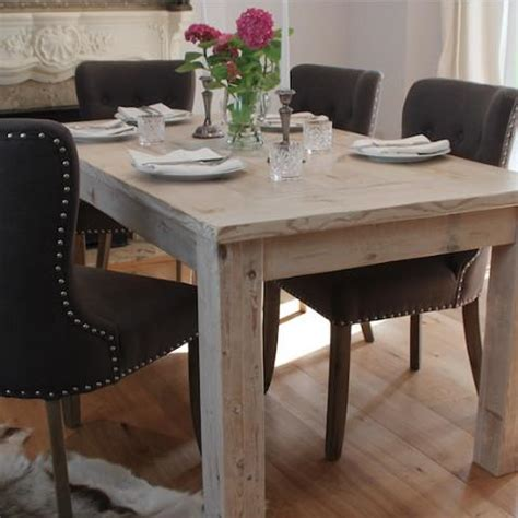 reclaimed wood kitchen table and chairs scandinavian furniture reclaimed wood dining table
