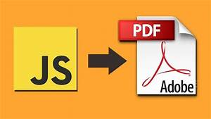 Jspdf Tutorial - Part 4  Create Filled Pdf Form