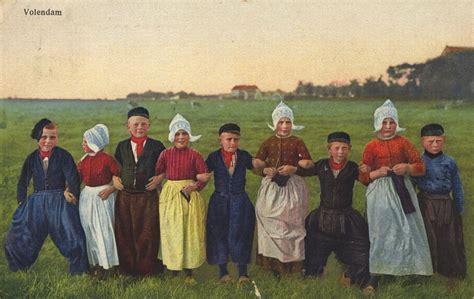 folkcostumeembroidery costume  volendam north holland