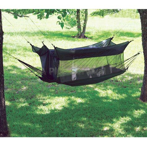 Tent Hammock Combination by Texsport Wilderness Hammock Tent Combo Shelter Ebay