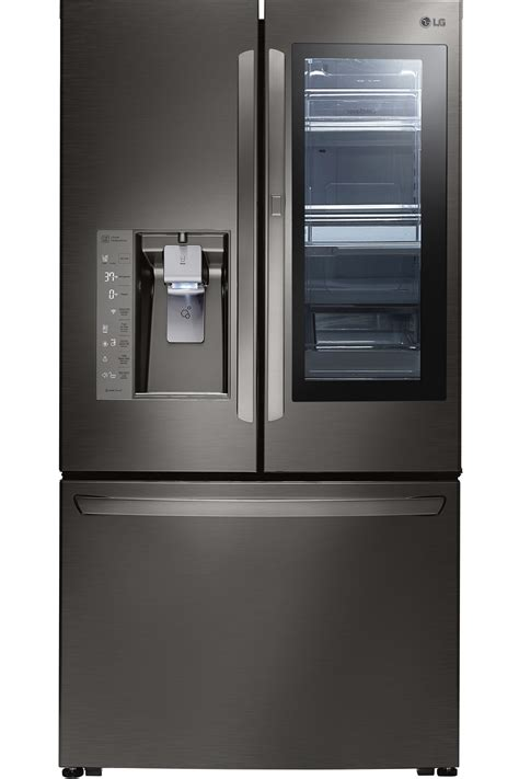 Lg Black Stainless French Door Refrigerator Lfxc24796d